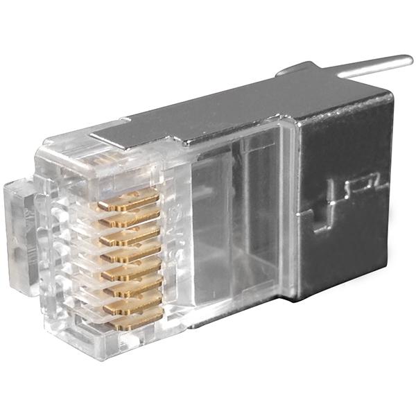 Cat6A stp plug